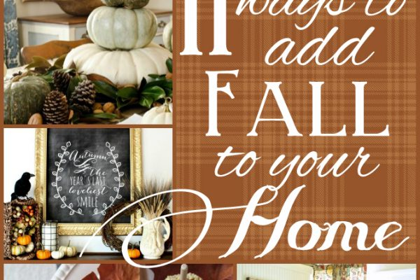 How to Add Fall to Your Home