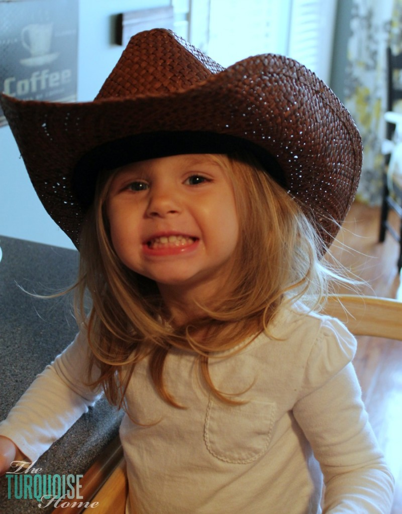 Little Cowgirl Helper