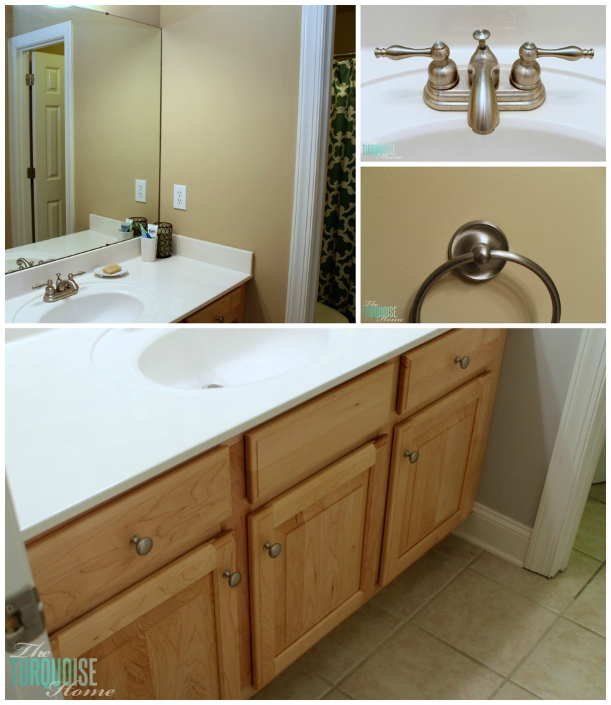 Guest Bathroom Makeover: Before