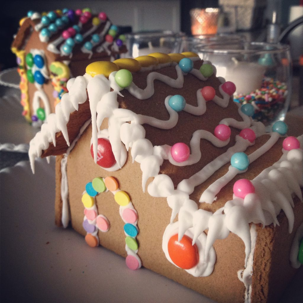 Sprinkle the Gingerbread Houses #sprinkles #birthday