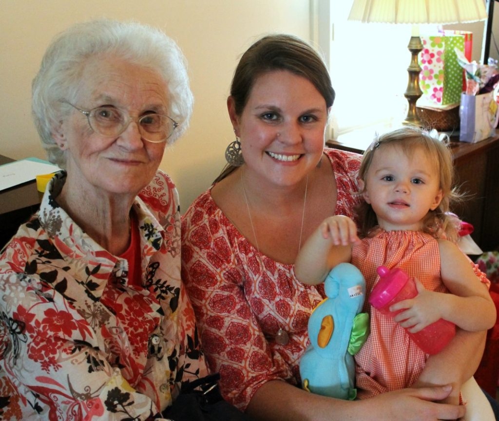 Grammy, Ava and Me