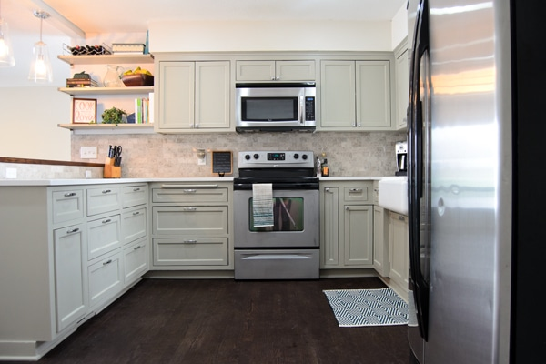 Kitchen Reveal from Ramblings from the Burbs