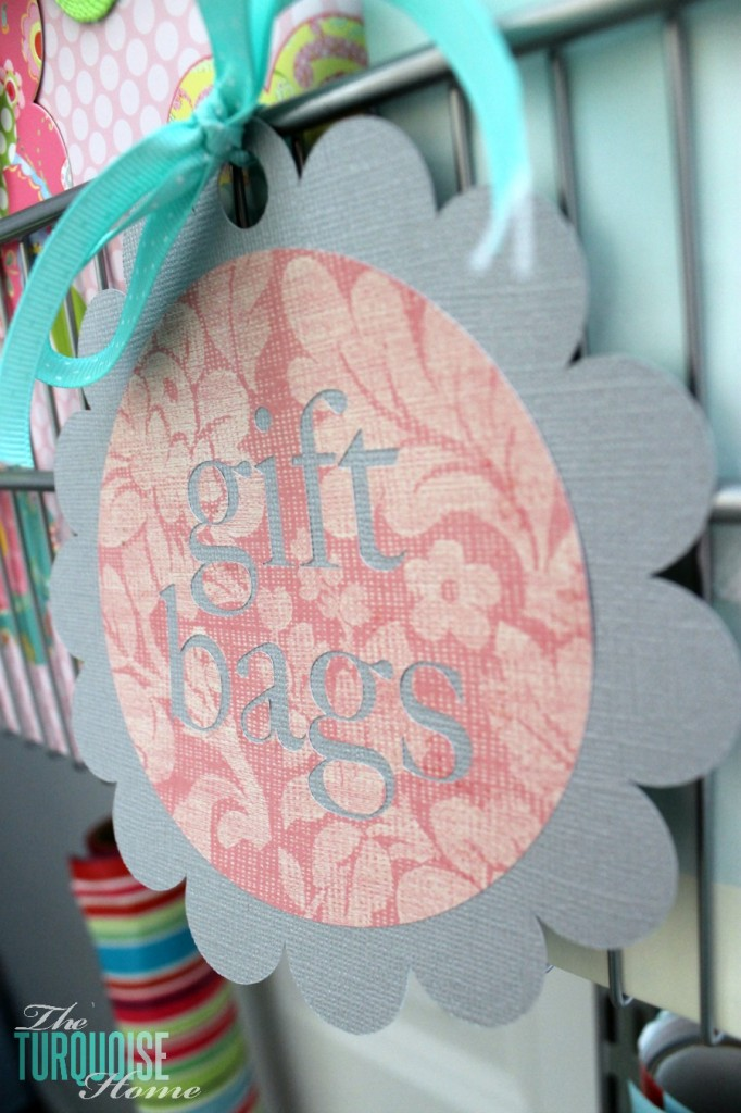 Labels for the Gift-Wrapping Station