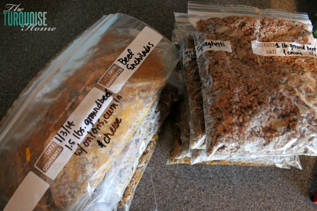 The Average Girl's Guide to Monthly Meal Planning and Freezer Cooking