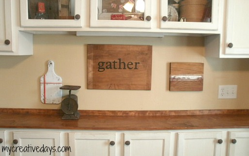 Repurposed Wood Cutting Boards