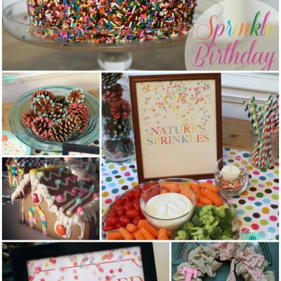Sprinkle Birthday Party {the details} #sprinkle #birthday