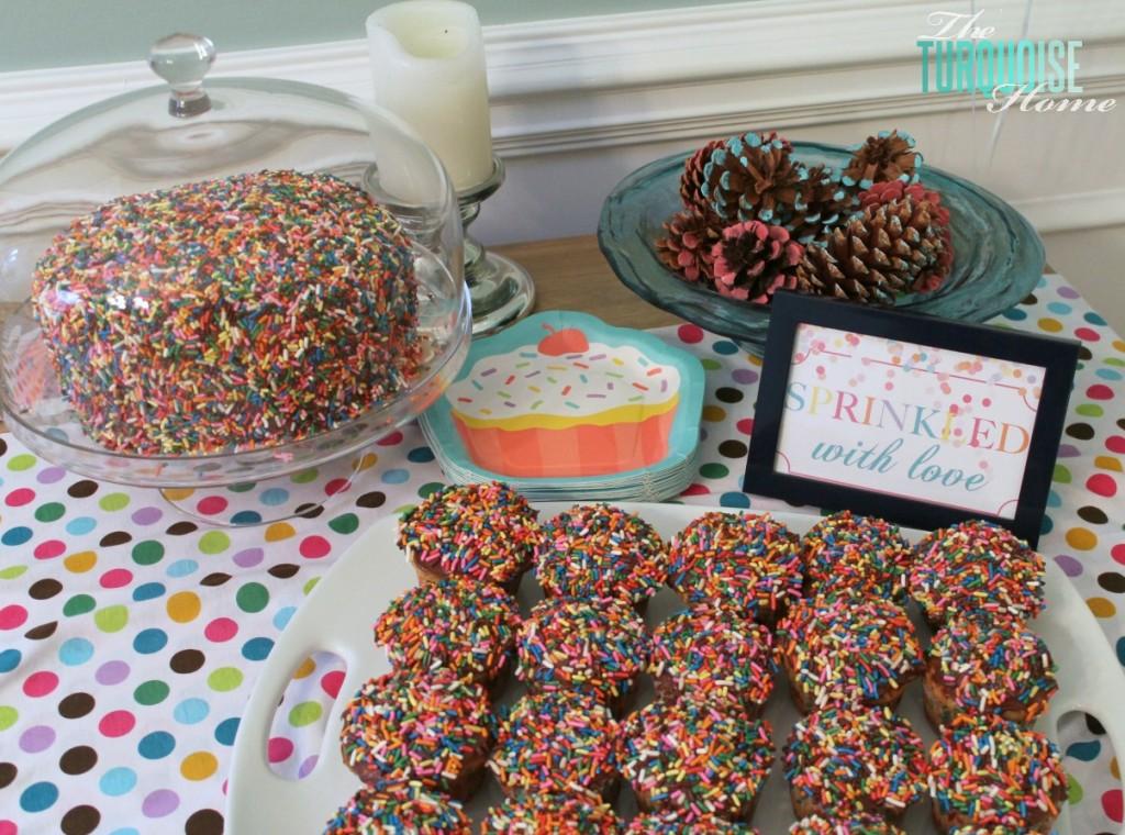 Sprinkle Cupcakes #sprinkle #birthday