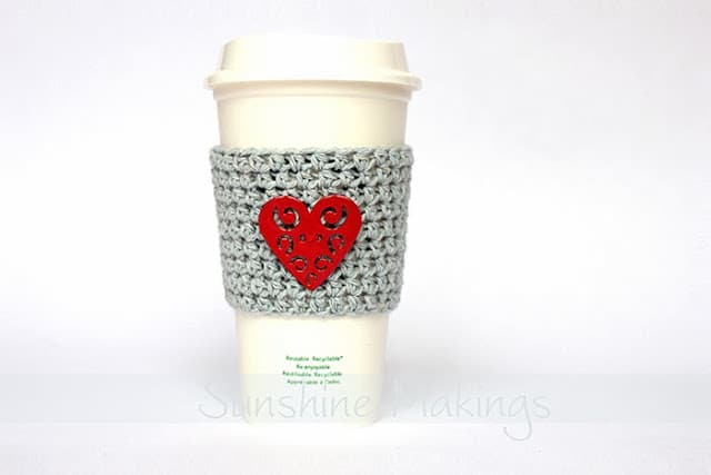 Valentine's Day Coffee Cup Sleeve