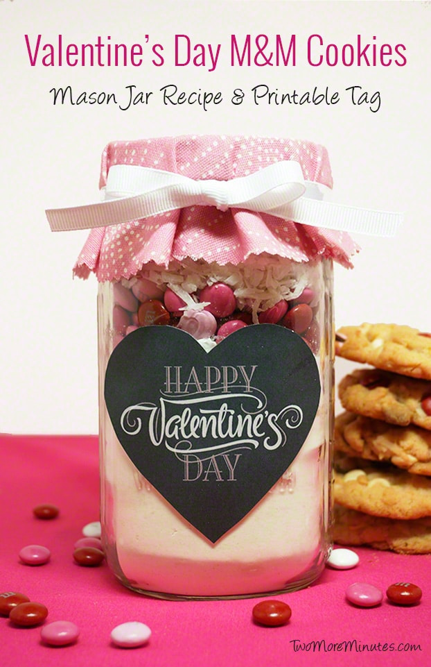 Valentine's Day Cookies – Mason Jar Recipe