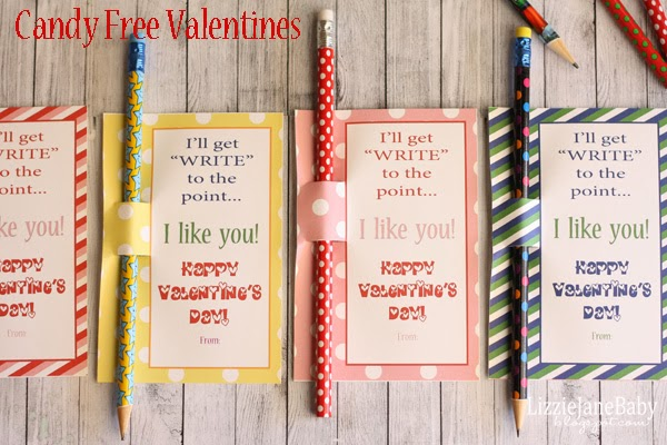 """Write"" to the Point - Candy Free Valentine's"