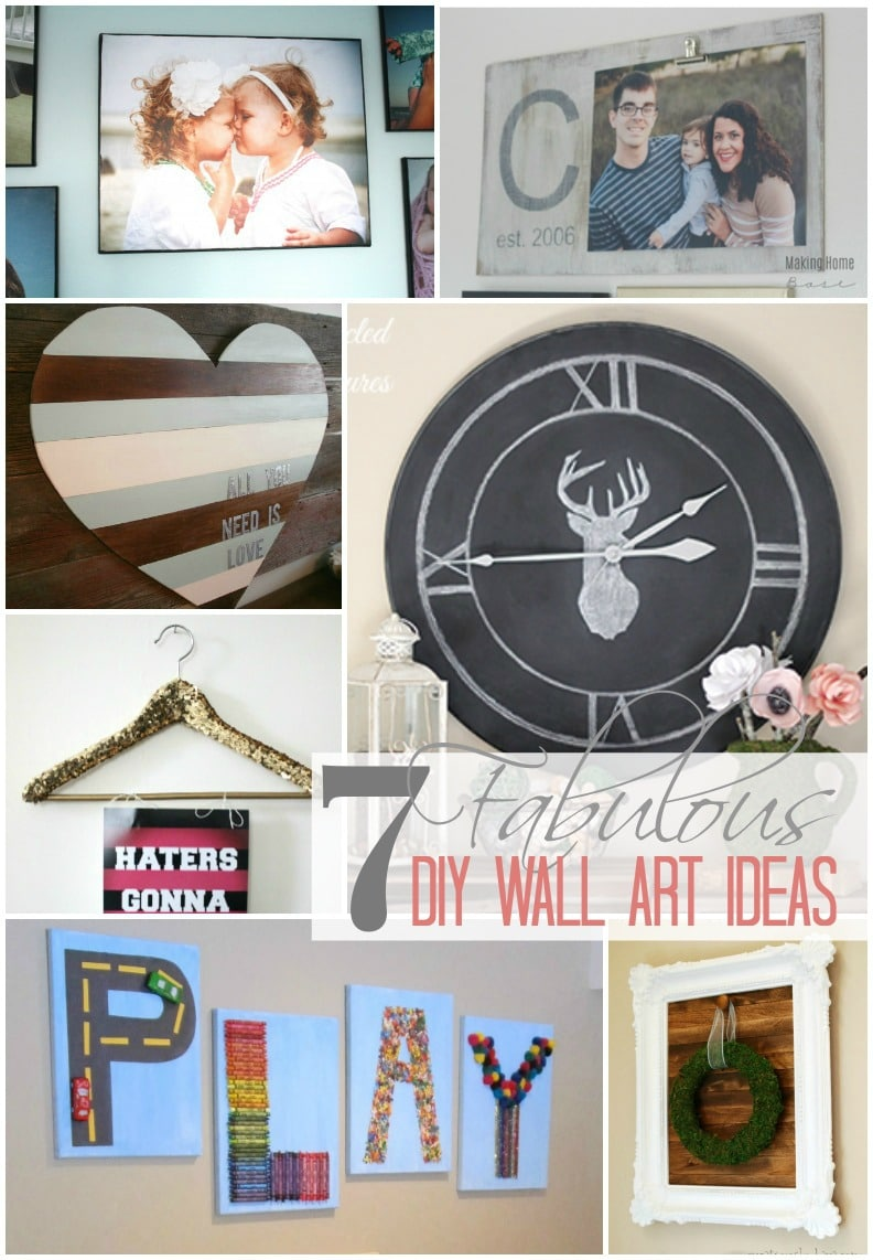 7 Fabulous DIY Wall Art Ideas