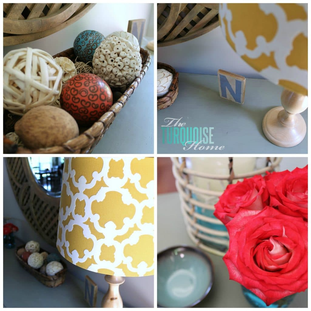 Decorating and Being Sentimental - you can't keep everything!