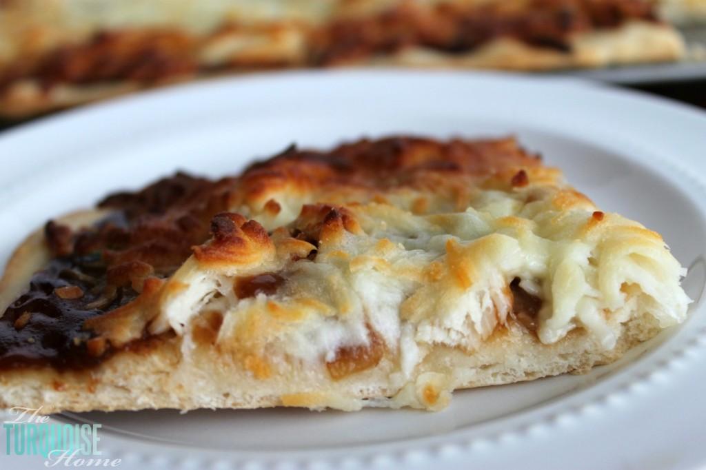 Homemade BBQ Chicken Pizza