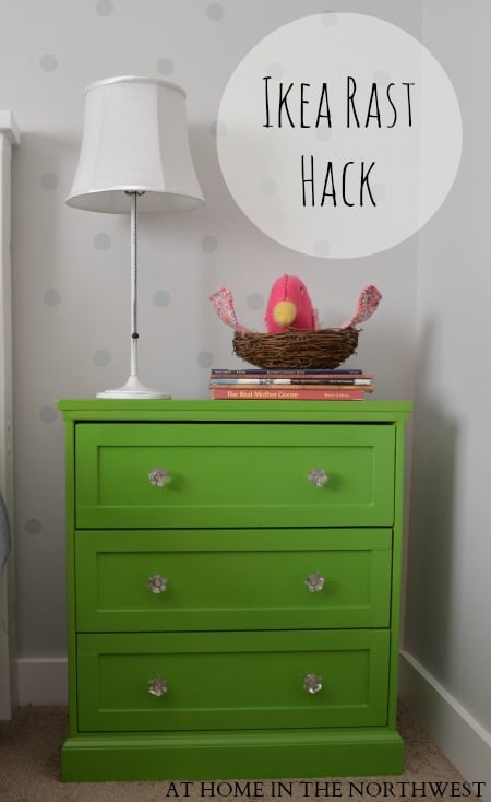 Green and Bling IKEA Rast HackGreen and Bling IKEA Rast Hack