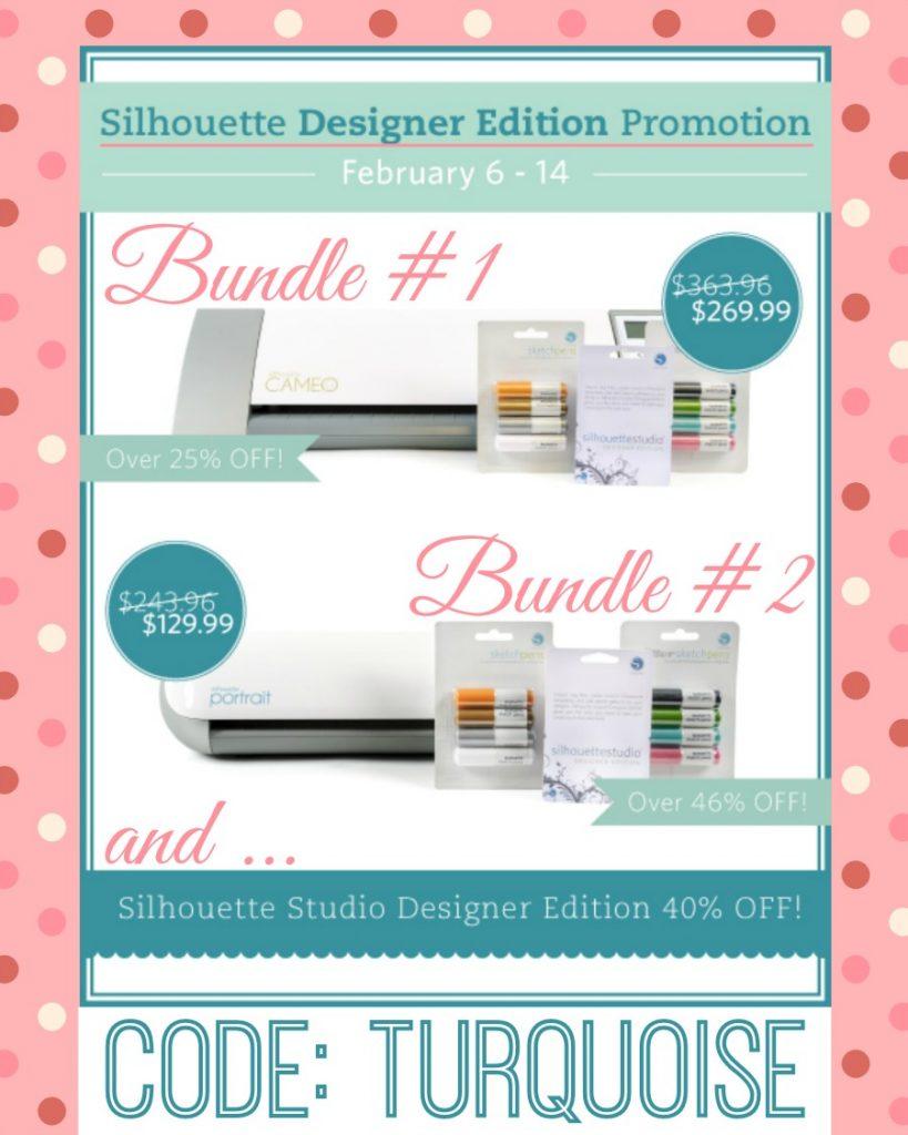 Silhouette Studio Designer Edition Sale