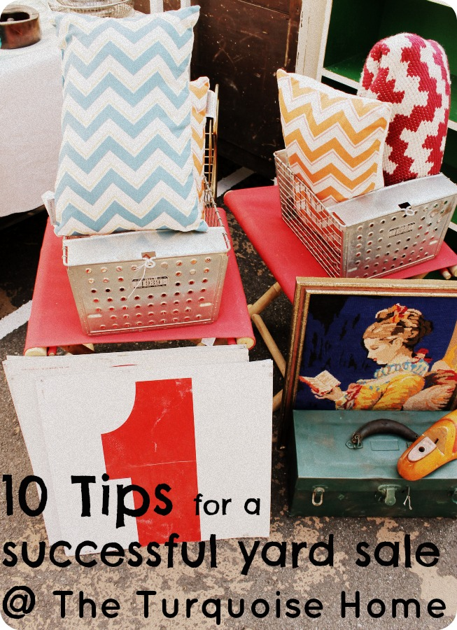 10 Tips for Having a Successful Yard Sale