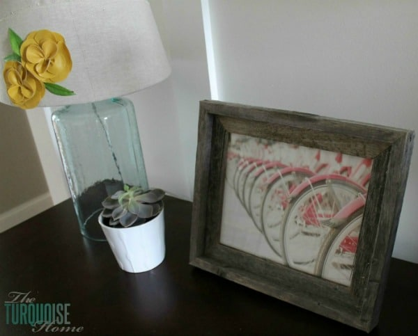 Spring Bicycle Art | TheTurquoiseHome.com