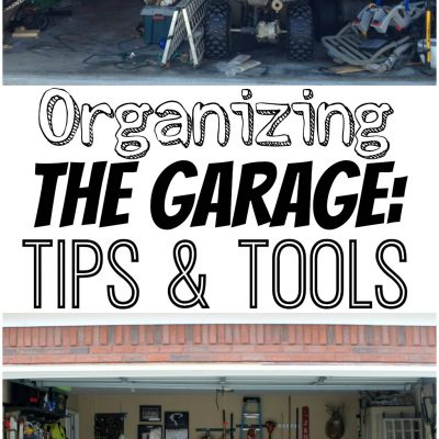 Organizing the Garage: Tips & Tools