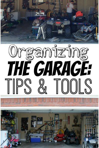 Garage Organization: Tips and Tools