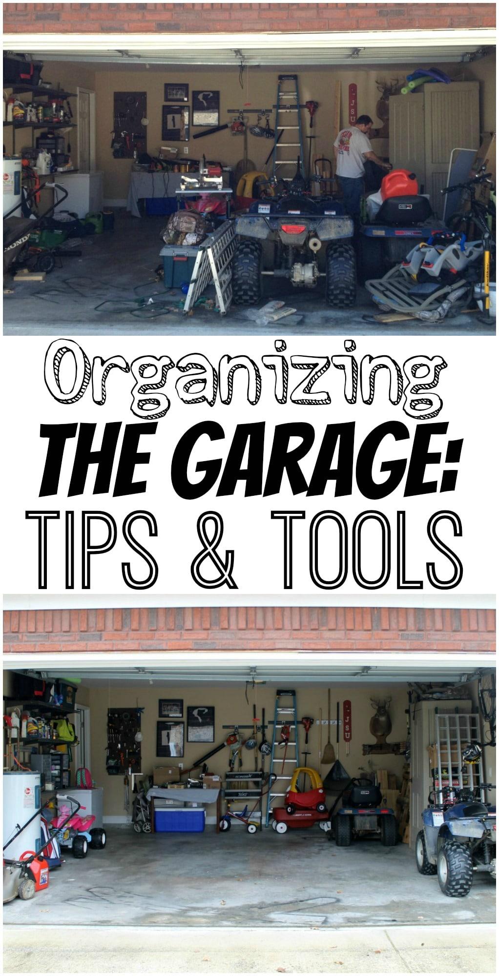 Organizing the Garage: Tips & Tools