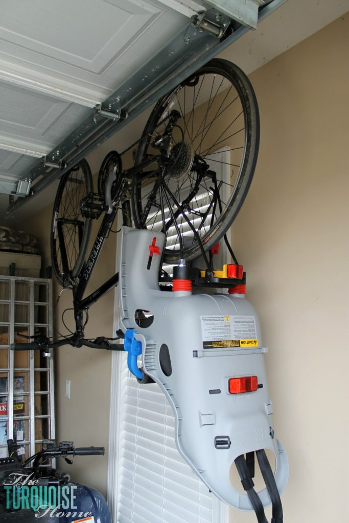 Garage Organization: Tips and Tools - how to hang bicycles
