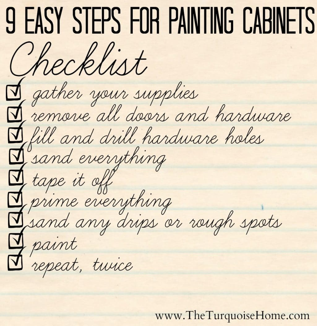 The Average Diy S Guide To Painting Cabinets