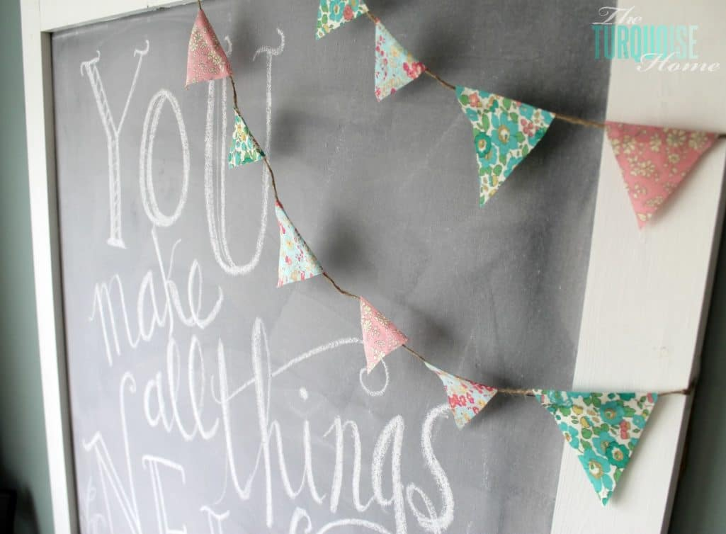 Spring Chalkboard Art {You Make All Things New}