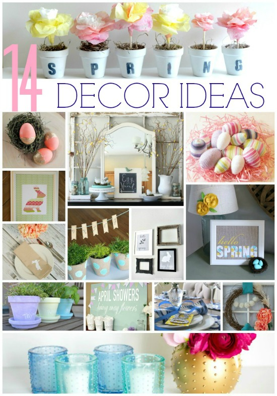 14 Spring Decor Ideas
