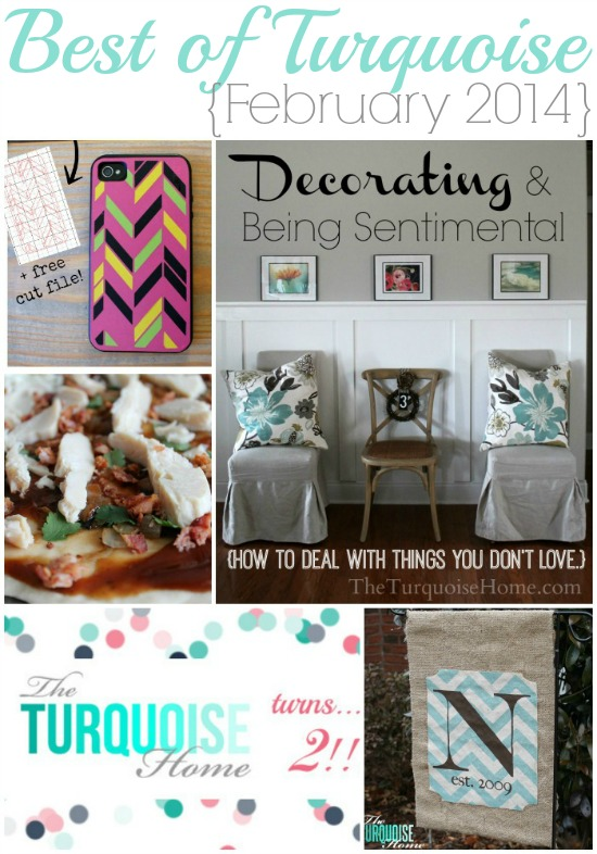 Best of Turquoise {February & March}