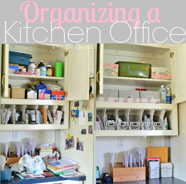 Organizing a Kitchen Office