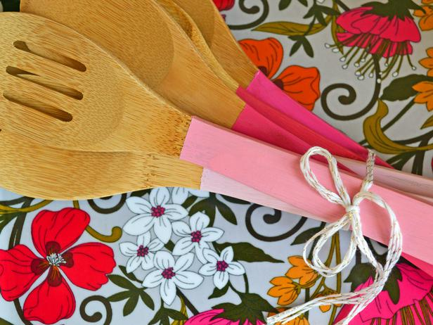 Dipped Wooden Spoons