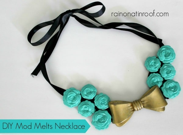 DIY Mod Melts Necklace
