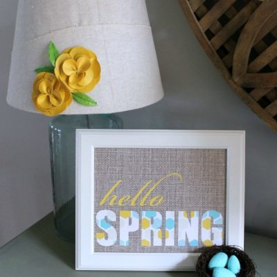 Hello Spring Free Printables