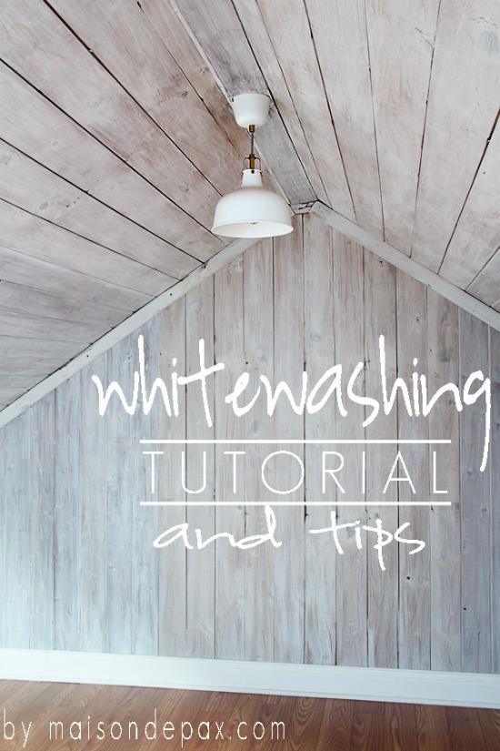 Whitewashing Tutorial and Tips