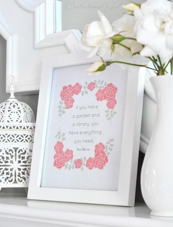 If You Have a Garden Printable