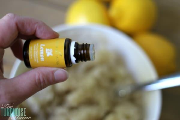 How to Make Lemon Sugar Scrub