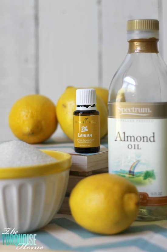 How to Make Lemon Sugar Scrub: Ingredients