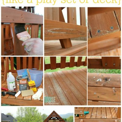 5 Easy Steps to Stain an Outdoor Structure