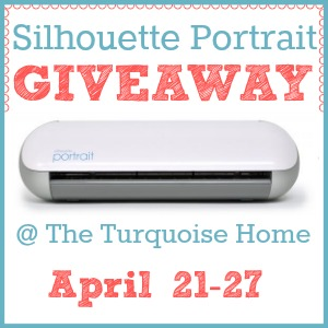 Silhouette Portrait Giveaway @ The Turquoise Home {April 21-27}