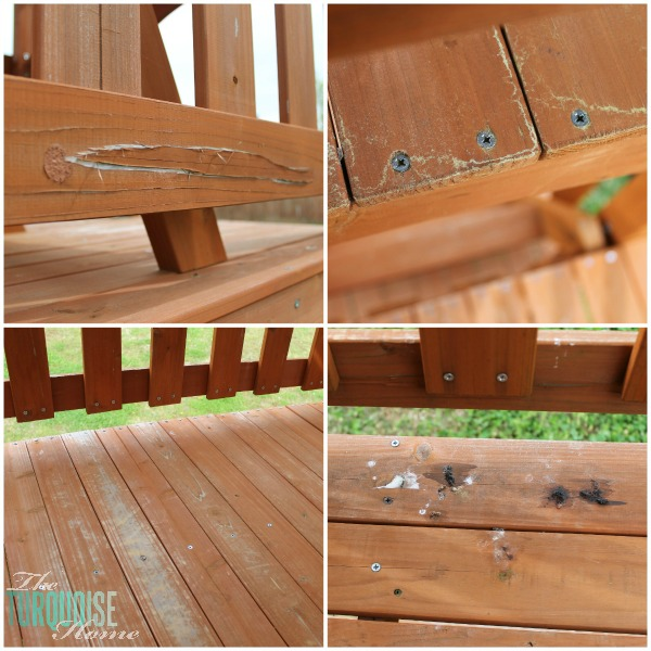 5 Easy Steps To Stain An Outdoor Structure The Turquoise
