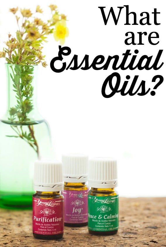 So, what ARE Essential Oils?