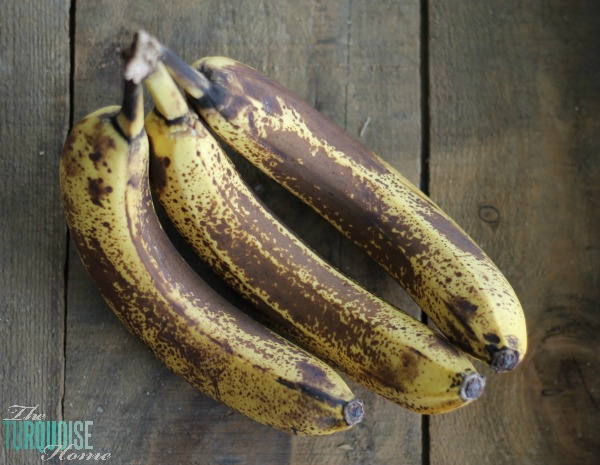 Find a great way to use super ripe bananas that might otherwise go to waste ...