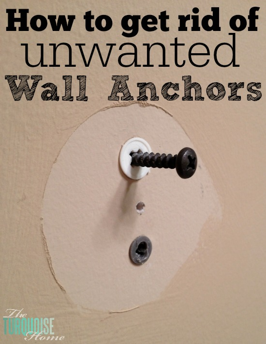 Quick Tip How To Get Rid Of Unwanted Dry Wall Anchors