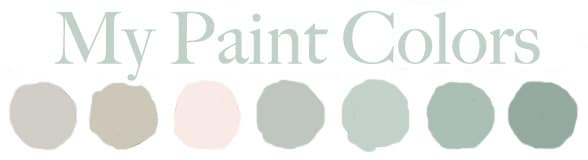 My Paint Colors | TheTurquoiseHome.com