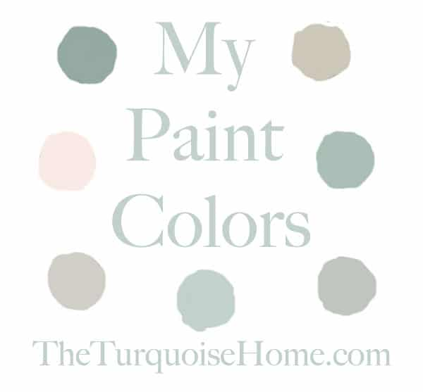 Aquamarine Paint Colors Via Bhg Com: The Paint Colors In My Home