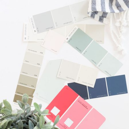 The Paint Colors in My Home! Perfect for a neutral, traditional farmhouse | Coastal Farmhouse Decor