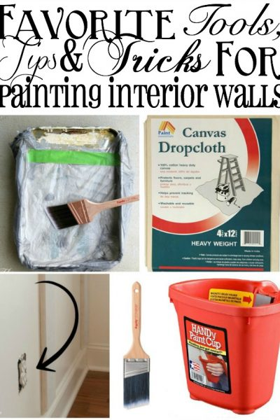 Favorite Tools, Tips and Tricks for Painting Interior Walls   TheTurquoiseHome.com