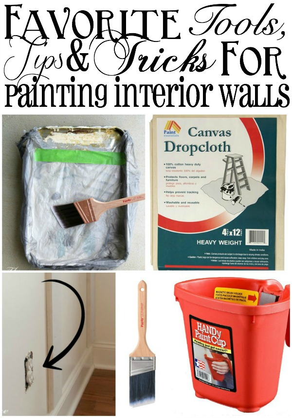 Favorite Tools Tips And Tricks For Painting Interior Walls Theturquoisehome