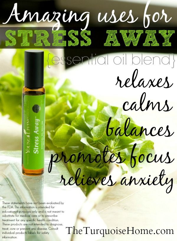 Essential Oils Every Home Needs: Stress Away