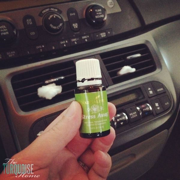 Diffuse Stress Away in the car for peaceful road trips!